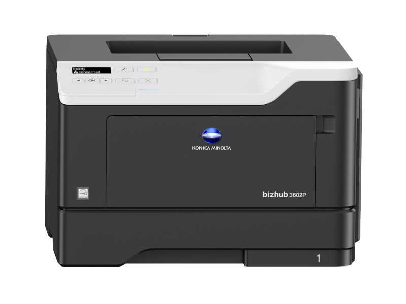 Konica Minolta bizhub 3602P - černobílá laserová tiskárna