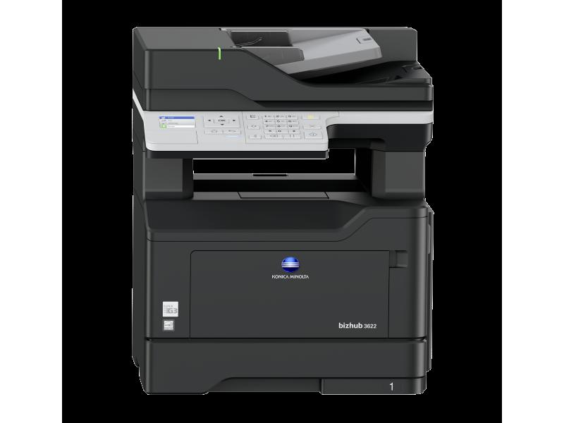 Konica Minolta bizhub 3622 - černobílá laserová multifunkční tiskárna