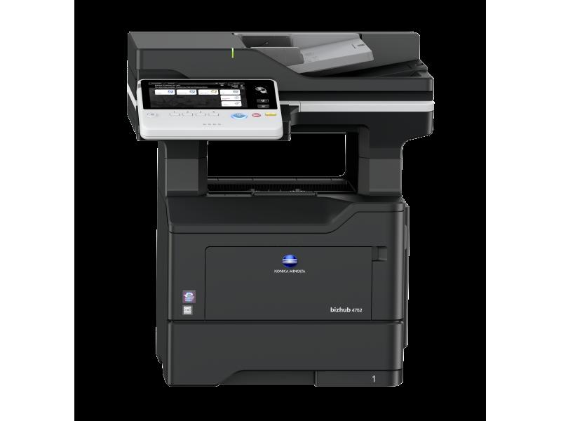 Konica Minolta bizhub 4752 - černobílá laserová multifunkční tiskárna
